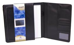 Majestic Goods Black Leather Executive Portfolio 25pcs/Box