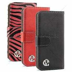 VanGoddy Eco- Leather Wallet Portfolio Cover Book Case For A