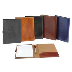 Italian Leather Business Padfolio Portfolio Organizer Resume