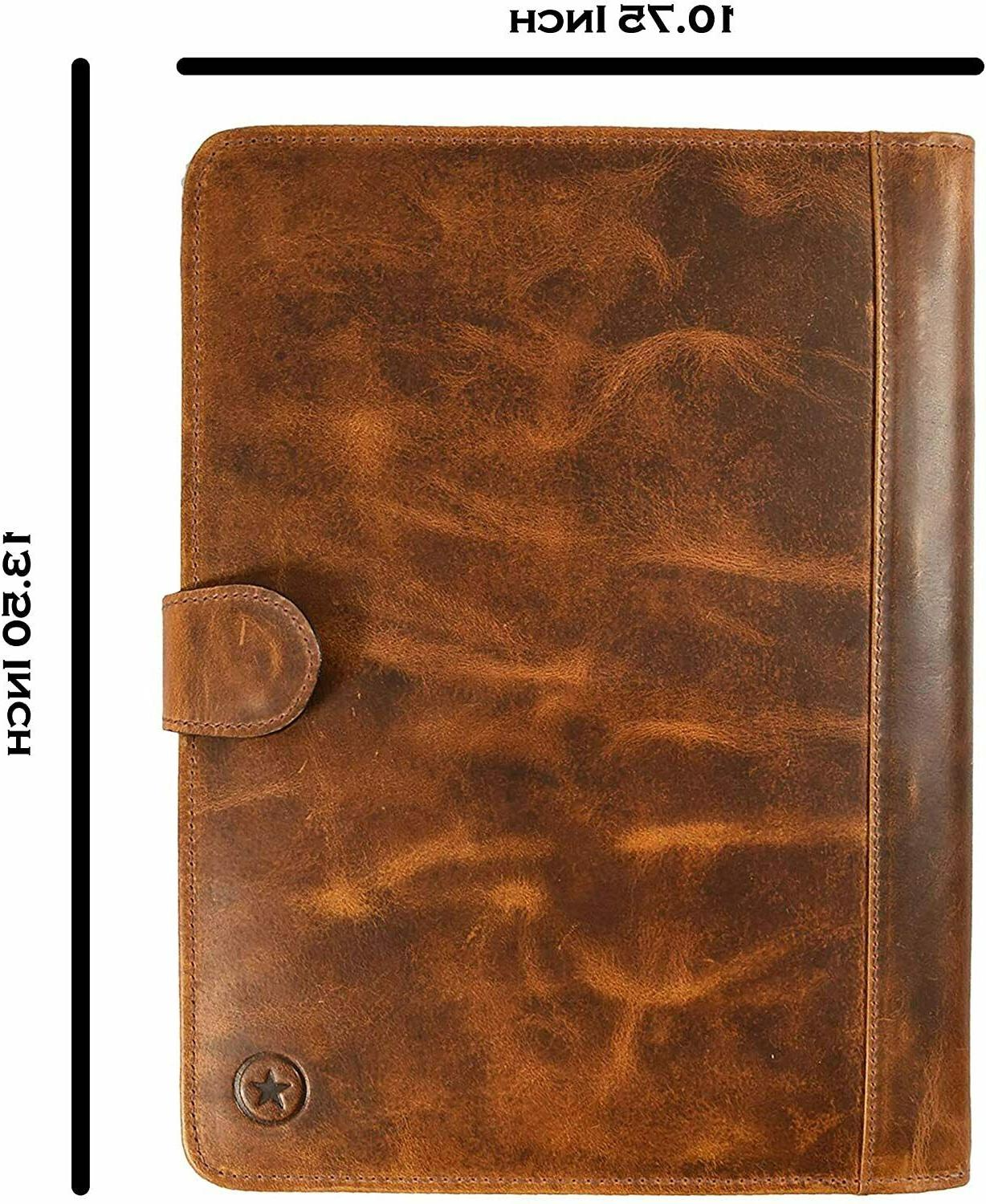 Leather Travel Professional Organizer A424