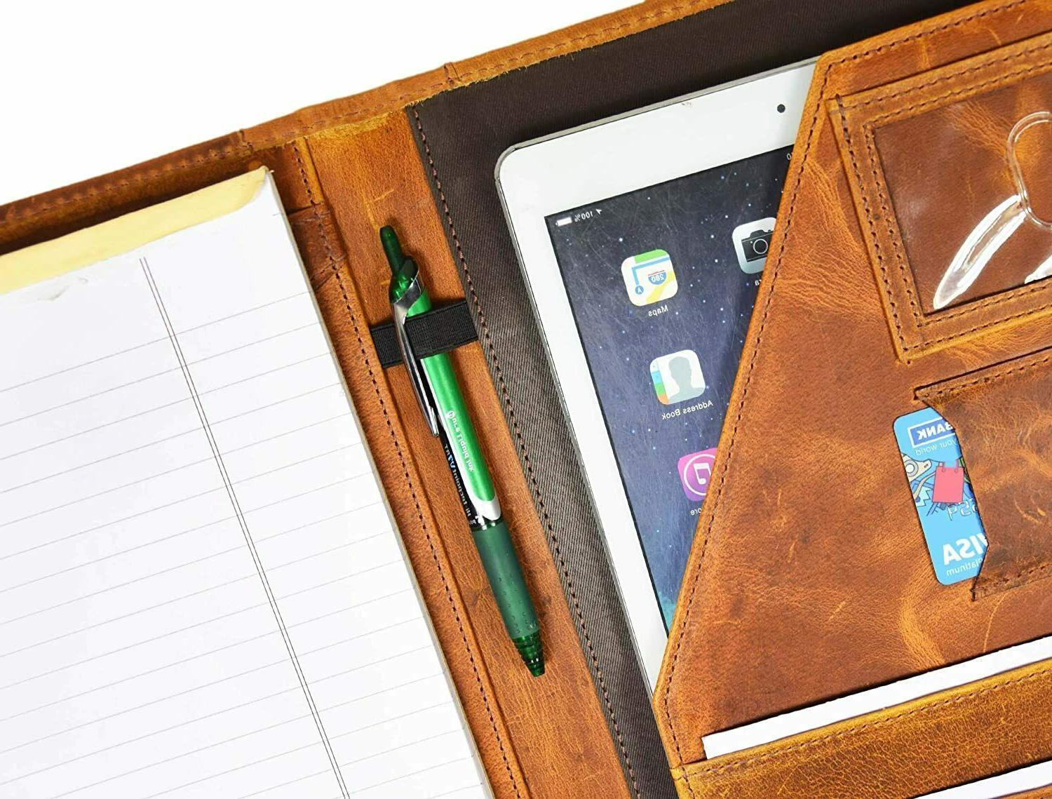 Leather Professional Tablet Holder A424