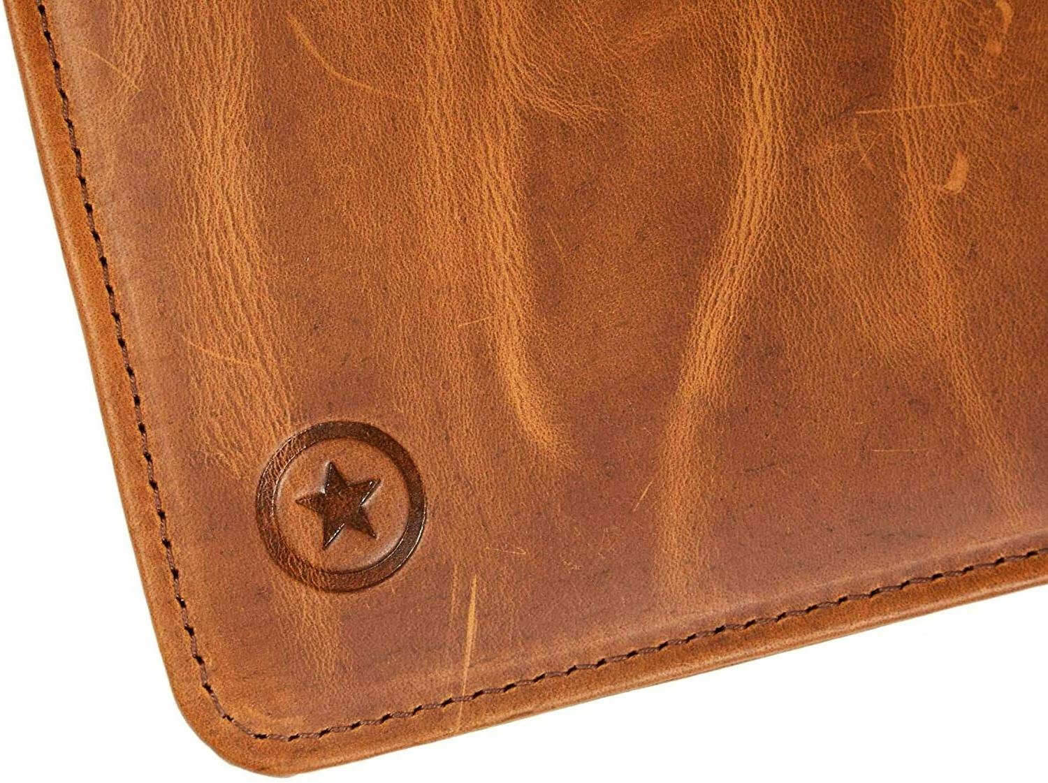 Leather Travel Unisex Professional Organizer Tablet A424