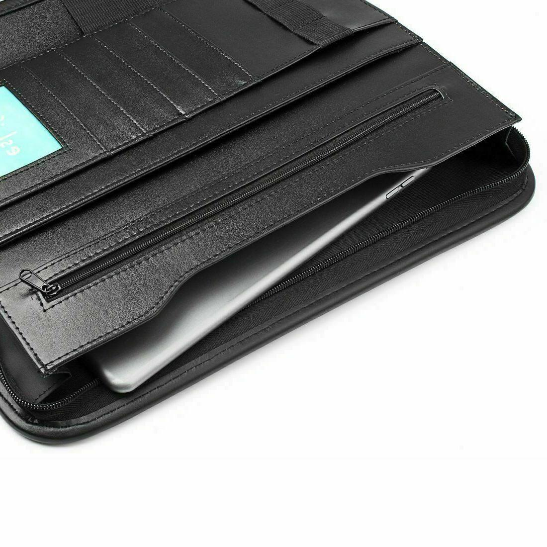 Padfolio Zippered Notebook Organizer