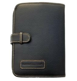 Perry Ellis Portfolio Leather Expandable Personal Organizer