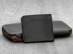 NEW! Bellroy Leather Carry Out Portfolio Wallet with Pocket
