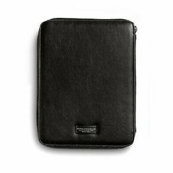 Notepad A4 AG Spalding Bros Vermont 246521P900 black leather