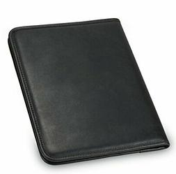 Portfolio Binder Leather Business Professional Folder Notepa