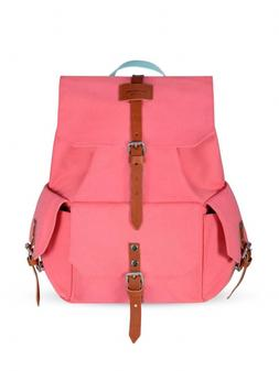 Women's Vintage Canvas Handbag Backpack Portfolio Travel Bag