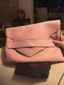 Women's Clutch AUTHENTIC BOLDRINI Leather Portfolio Italy